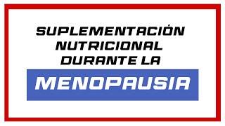 EQUILIBRIO NATURAL EN LA MENOPAUSIA. Por Carmen Salgado