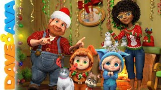 🎉 Christmas Songs for Kids | Christmas Time with Dave and Ava | Baby Songs and Christmas Carols 🎉