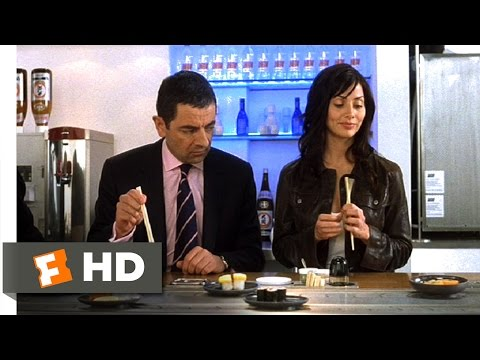 Johnny English (7/10) Movie CLIP - Sushi (2003) HD