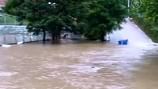Южная Корея страдает от наводнений из-за ливней (новости)