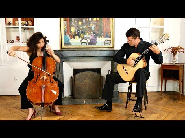 Astrig Siranossian et Emmanuel Rossfelder - Variations sur une corde de N. Paganini (Extrait)