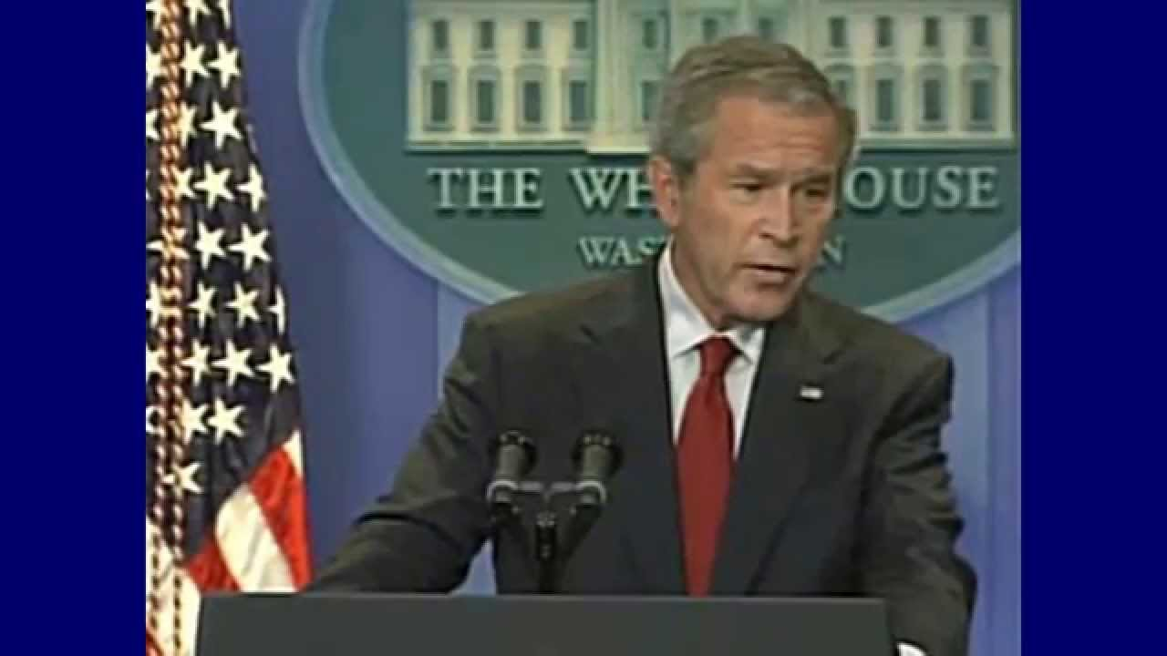 the 16 words representing george bushs lies about iraq Today, after two decade-long counterinsurgency wars have resulted in tremendous sacrifice by the us armed forces and fledgling governments in afghanistan and iraq, bush's words in 2001 could not.