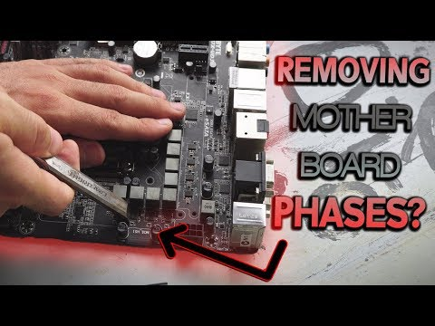 Can YES Fix IT...!? The 8 MINUS 4 Phase Power Design | Oven Baking GPU WORKS!?