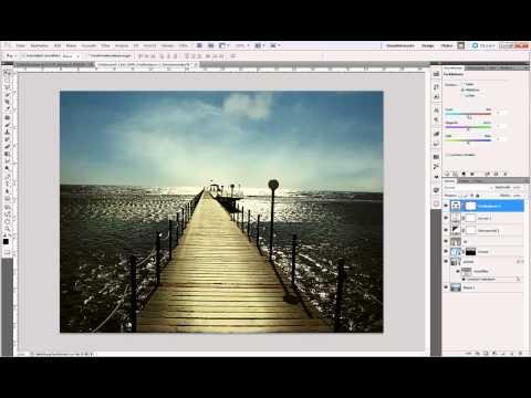 Photoshop Tutorial : Farblook und Retusche - Ganzes Bild