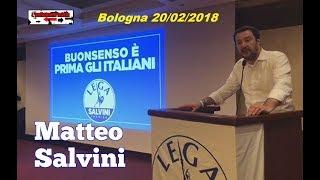 🔴 Matteo Salvini a Bologna, in una sala strapiena di gente perbene - 20/02/2018