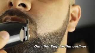 How to raze shape up your own Beard  -HD