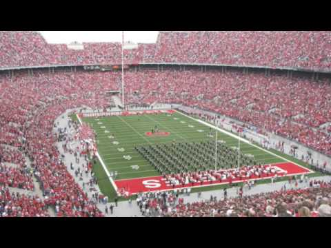 Ohio State's Take the Field Tribute for Navy - 9.5.09
