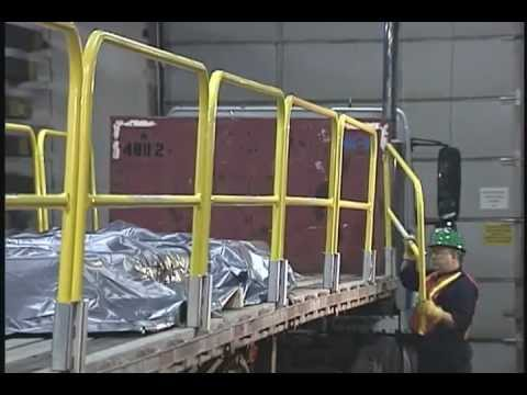 Flatbed Fall Protection System Speedguard Feature Video