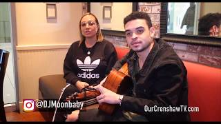 Ebon Lurks Acoustic Performance on Our Crenshaw TV