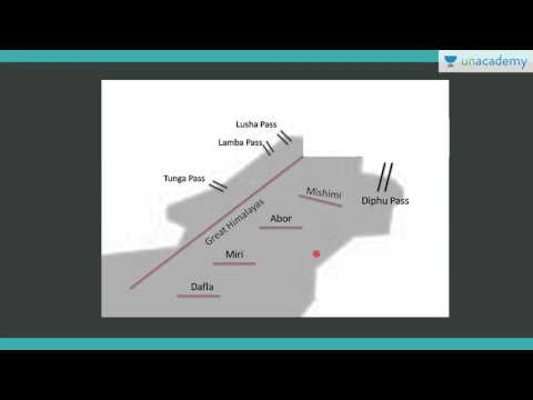 Unacademy Geography lecture for IAS:  Overview Of Physiographic Divisons Of Himalayas