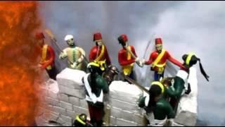 Видео Диорама Взятия крепости Измаил финал(Диорама