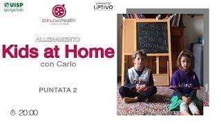Allenamento KIDS AT HOME - 2