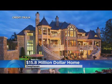 $15 Million Home Up For Sale On Lake Minnetonka