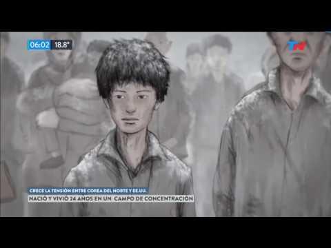 Nació y vivió 24 años en un campo de concentración en Corea del Norte