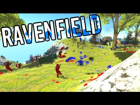 Ravenfield - 300 Soldier MAYHEM! - Let's Play Ravenfield Gameplay