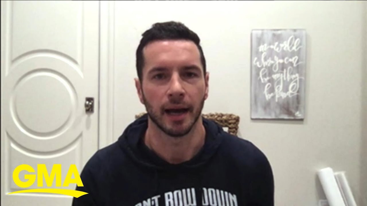 NBA star JJ Redick speaks out about the return of sports l GMA