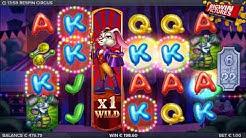Respin Circus Slot - Free Spins MEGA BIG WINS!