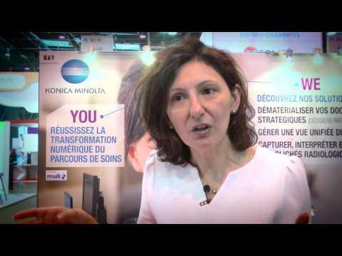 Paris Healthcare 2016 : Konica Minolta et la transformation numérique des établissements de santé.
