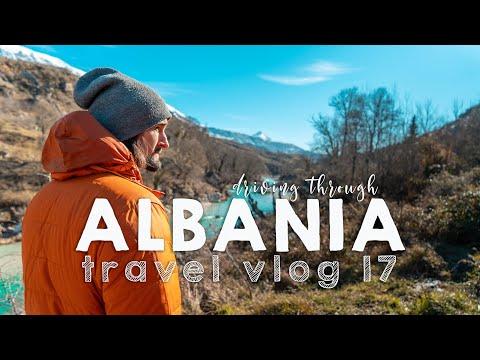 Driving through Albania! | VANLIFE TRAVEL VLOG 17