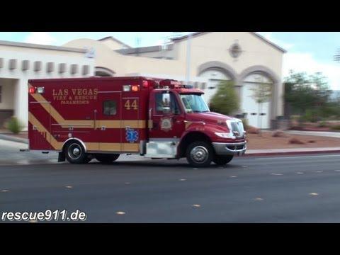 Engine 44 + Rescue 44 Las Vegas Fire-Rescue