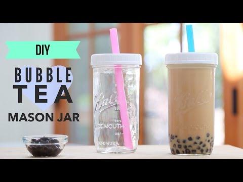 DIY (Mason Jar) Bubble Tea Tumbler
