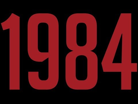 1984. Clip shows manipulation of information and history.