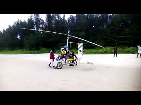 Gc-350 - India's First full scale handmade Gyrocopter by