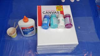 Low Cost_Easy to Follow Steps_Acrylic Pouring On A Budget_Great for Beginners_Paint Pouring