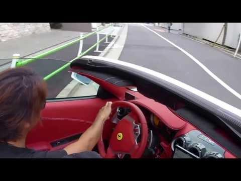 フェラーリ Ferrari F430 F430スパイダー F430spider 麻布十番 六本木 麻布十番 フェラーリ 六本木 フェラーリ マフラー JWOLFマフラー ビアンコアブス...