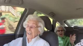 Old Ladies Argue in The Car
