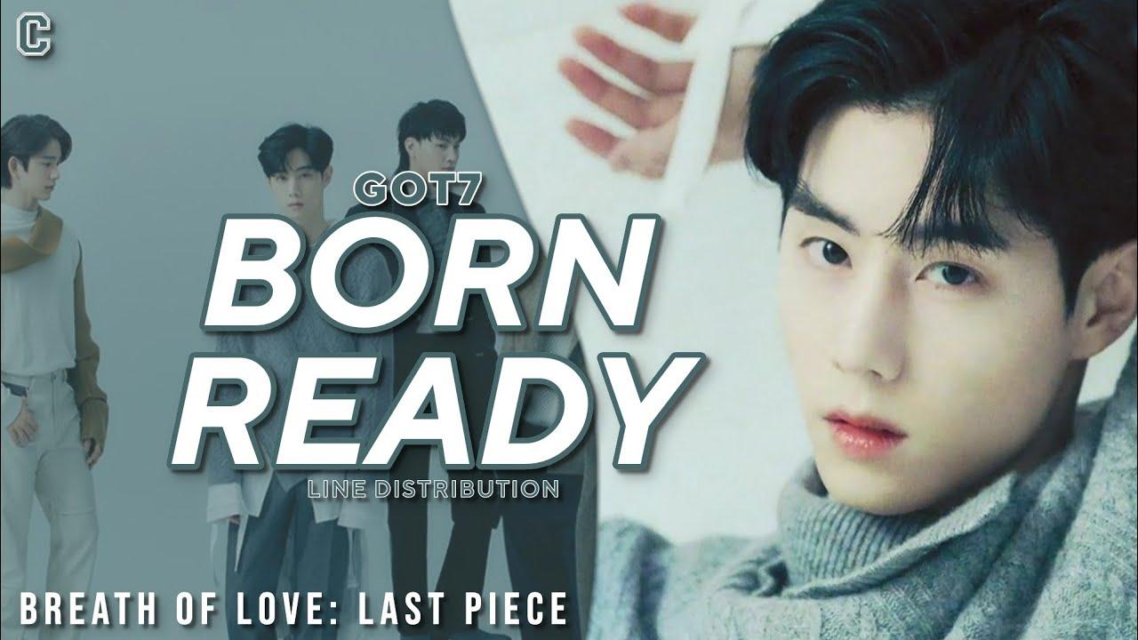 """Born Ready"" translates into English + texts in Korean"