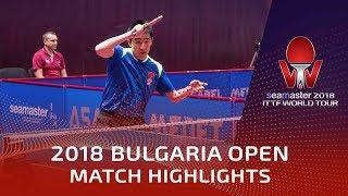 Kim Minhyeok vs Ma Te | 2018 Bulgaria Open Highlights (Group)