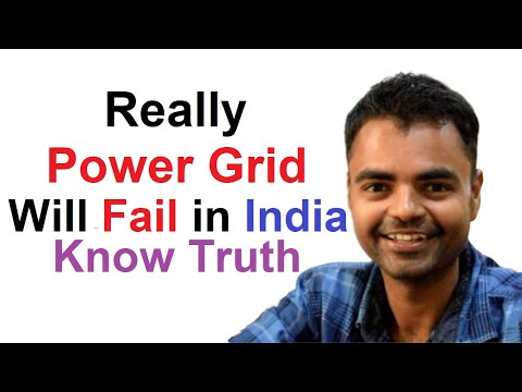 Power Grid Failure In India Preparation, Power Grid Concept, How To Save Power Grid In India