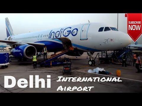 Full Inside Coverage of Indira Gandhi International Airport, Runways & Shuttle Buses | New Delhi |
