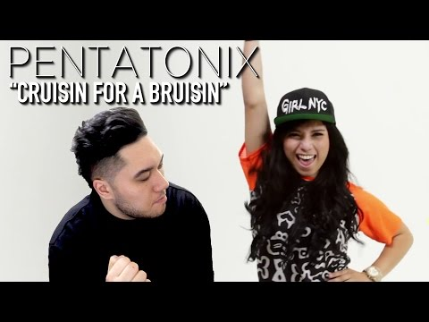 Pentatonix - Cruisin' for a Bruisin' REACTION!!!