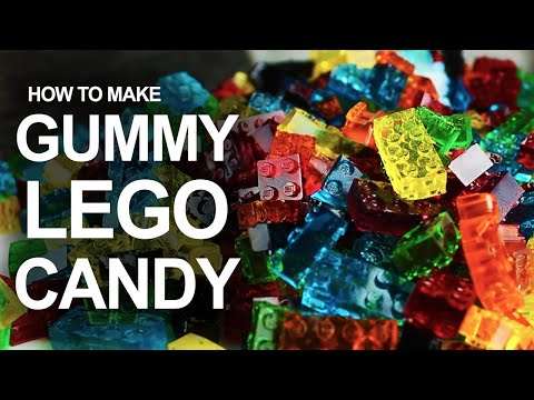Make LEGO-Shaped Gummy Candy With a DIY Silicone Mold