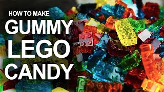 How To Make LEGO Gummy Candy! TKOR's How To Make Lego Gummies Guide!