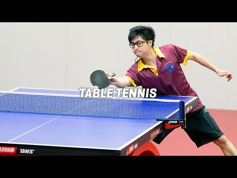 2018 Pan Pacific Masters Games | Table Tennis