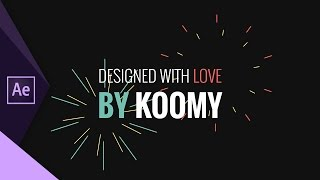 FREE Creative Promo Intro Template (After Effects)