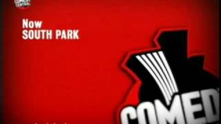 Comedy Central ident into South Park 21.08.2009