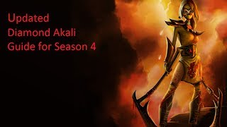 [S6 UPDATED] #Maniac Diamond 1 Akali Guide - Become a Pro in the middle lane!