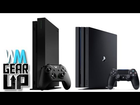 XBox One X vs. PS4 Pro - Gear Up^