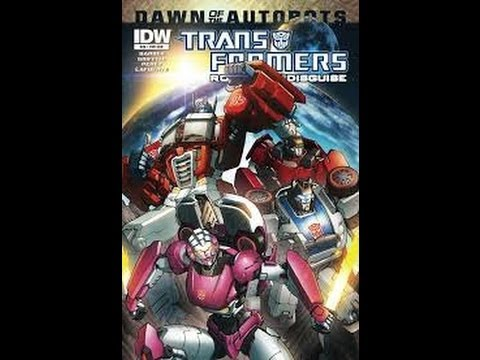 Transformers Comic Review – Robots In Disguise 28