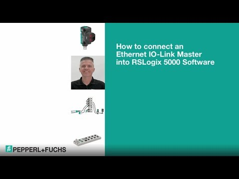 Part 3 | Connect an Ethernet IO-Link Master into RSLogix 5000 Software