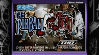 CGR Undertow - THE PINBALL OF THE DEAD review for Game Boy Advance
