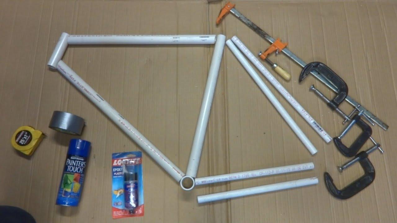 How to make a bike frame frame design reviews for Building pvc pipe