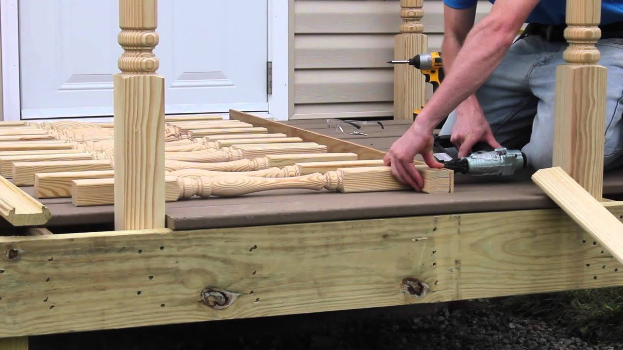 How to install deck spindles from sl spindles youtube baanklon Images