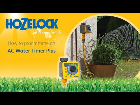 How To Programme An Ac Water Timer Plus Youtube