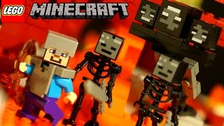 Lego Minecraft 21126 The Wither + Stop Motion Animation for KIDS by KokaTube