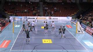 Amazing Volleyball spike by Steven Hunt